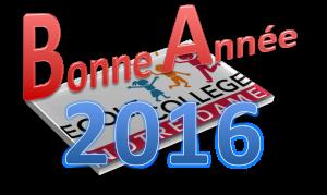 logo 2016 bonne année