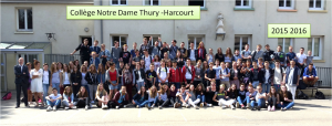 3 éme Notre Dame 2015 2016